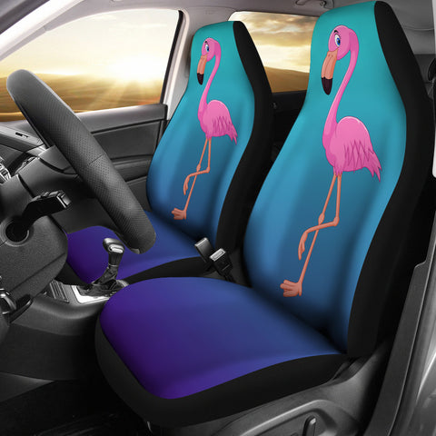 Image of Flamingo Car Seat Covers