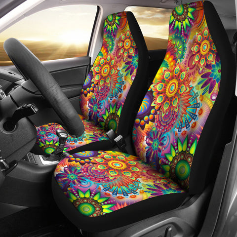 Summer Solstice Custom Car Seat Covers