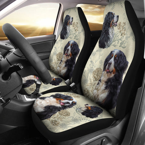 Image of Bernese Mountain Car Seat Covers (Set of 2)