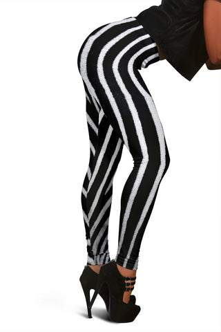 Image of Women's Leggings - Zebra