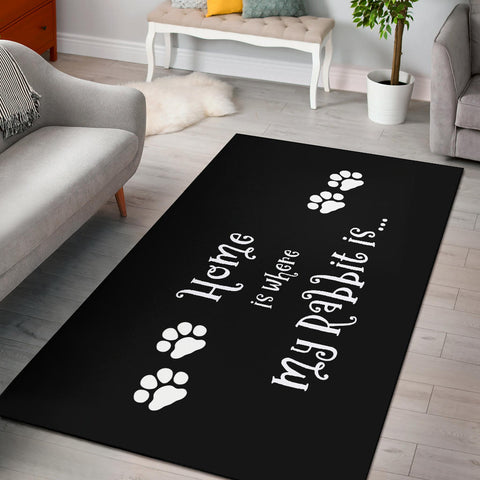 Rabbit Home Area Rug