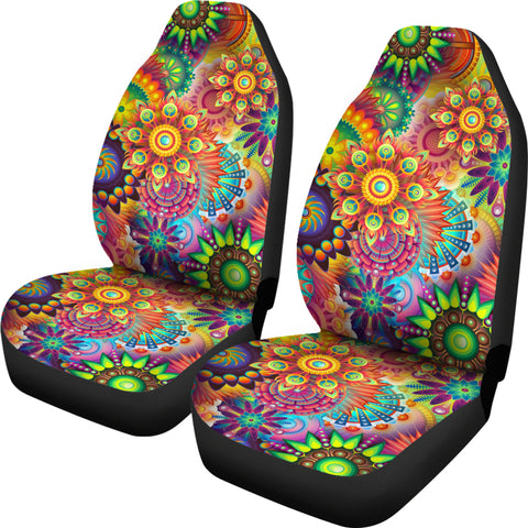 Image of Summer Solstice Custom Car Seat Covers