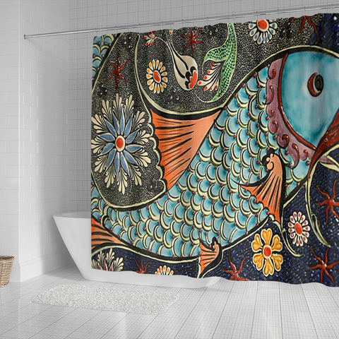 Shower Curtain ~ Mosaic