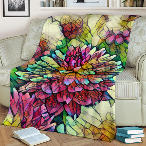 Bright Flower Blanket