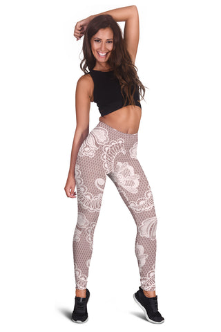Image of Lace Leggings