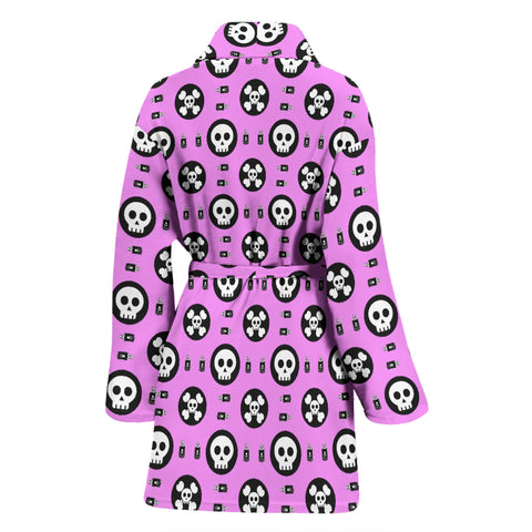 Image of Skulls and Potion Womens Bathrobe