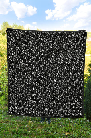 Quilt Black Notes design