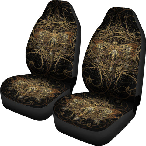 Image of Dragonfly Mandala Car Seat Covers