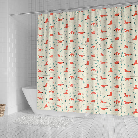 Fox Shower Curtain
