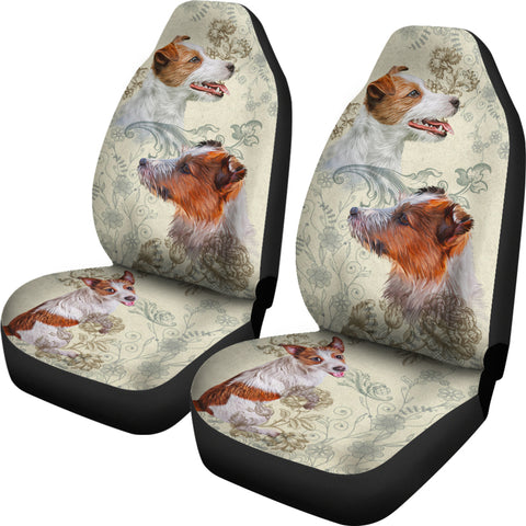 Image of Jack Russell Terrier Car Seat Covers (Set of 2)