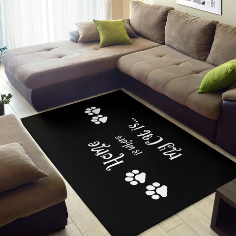Image of Cat Home Area Rug