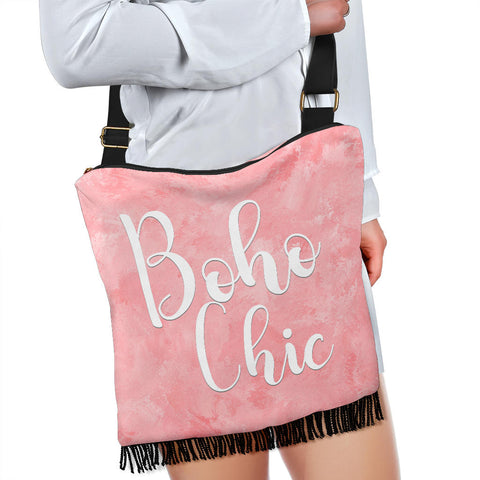 Image of Boho Chic Crossbody Boho Handbag