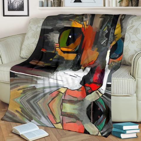 Art Cat III Blanket