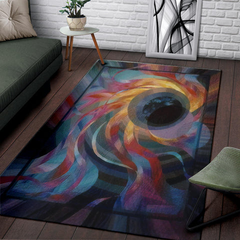 Image of Black Hole Area Rug