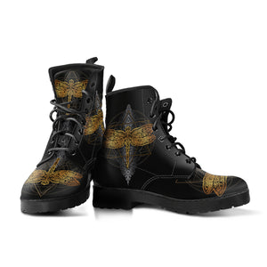 Cosmic Dragonfly Boots