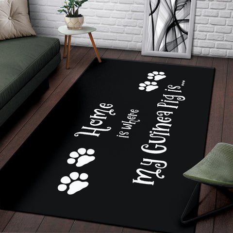 Image of Guinea Pig Home Area Rug