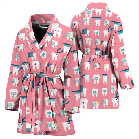 Dental Women's Bath Robe