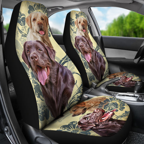 Image of Labrador Car Seat Covers (Set of 2)