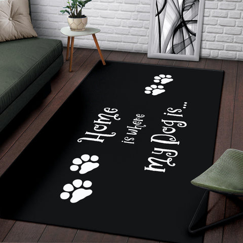 Image of Dog Home Area Rug