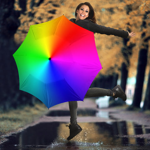 Image of Rainbow Umbrella