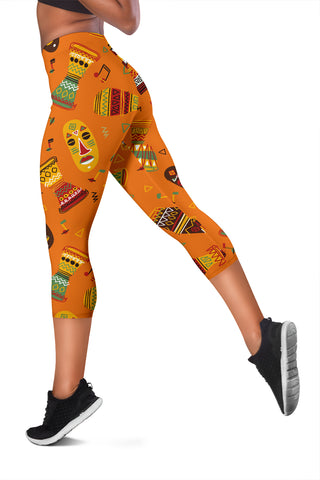 Image of African Women's Capris Leggings