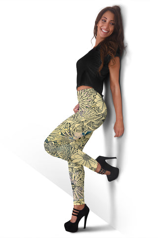 Image of Flower Leggings 2