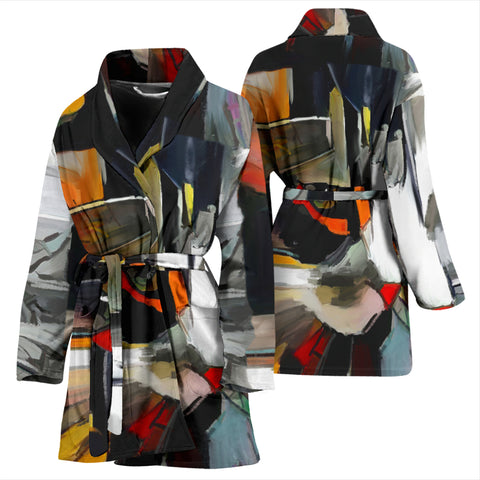 Image of Art II Cat Women's Bath Robe