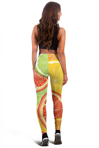 Image of Citrus Slice Women's Leggings