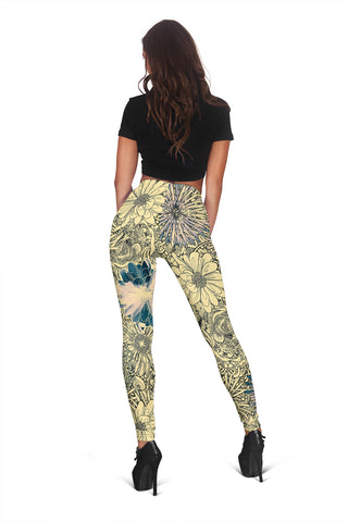 Flower Leggings 2