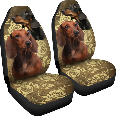 Image of Dachshund Car Seat Covers (Set of 2)