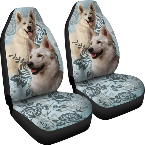 Image of Berger Blanc Suisse Car Seat Covers (Set of 2)