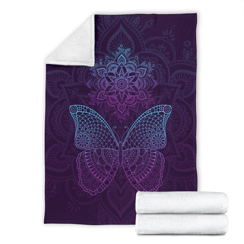 Butterfly Mandala Mood Blanket