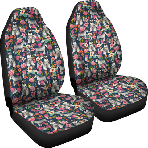 Image of Schnauzer Car Seat Covers (Set of 2)