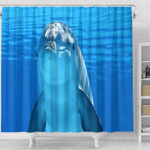 Shower Curtain ~ Dolphin