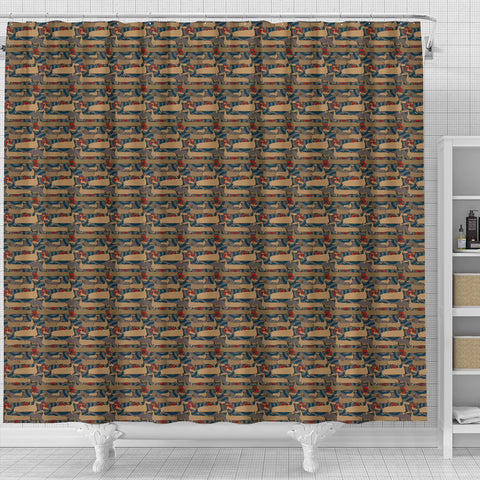 Dachshund Shower Curtain
