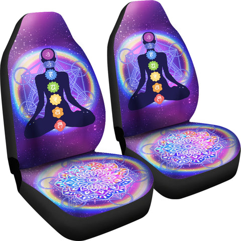 Image of Chakra Mandala Car Seat Covers
