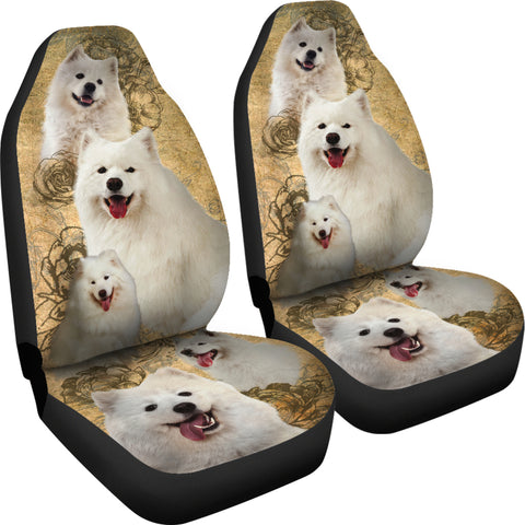 Samoyed Car Seat Covers (Set of 2)