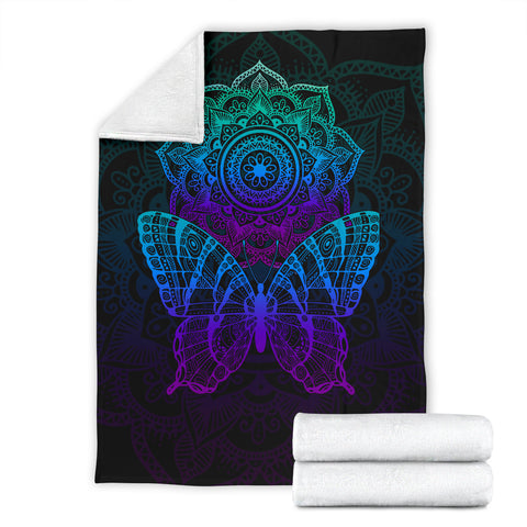 Image of Butterfly Mandala Blanket
