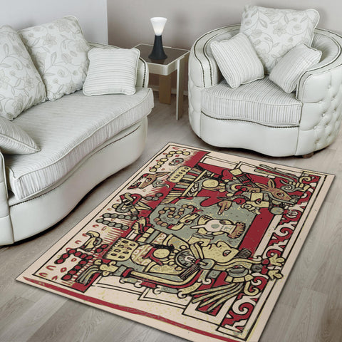 Image of Aztec Village Area Rug