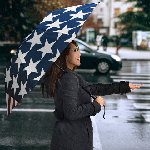 Image of American Flag Umbrella