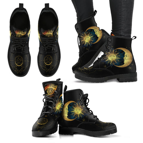 Sun, Moon & Earth Boots