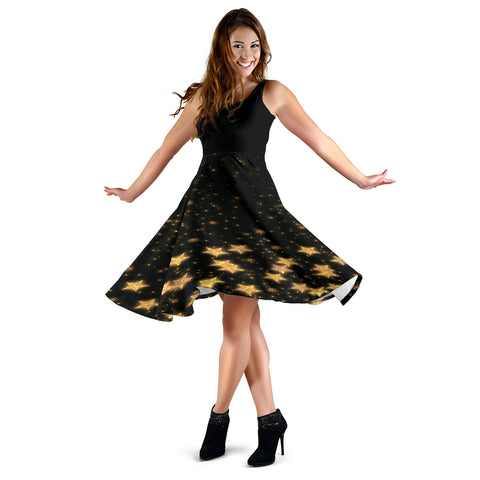 Image of Women's Midi Dress - Starstruck
