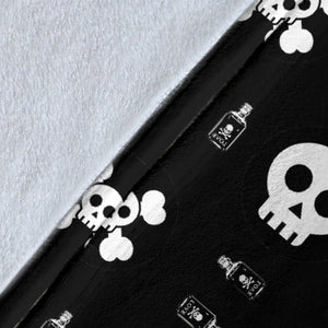 Skulls and Potion Blanket