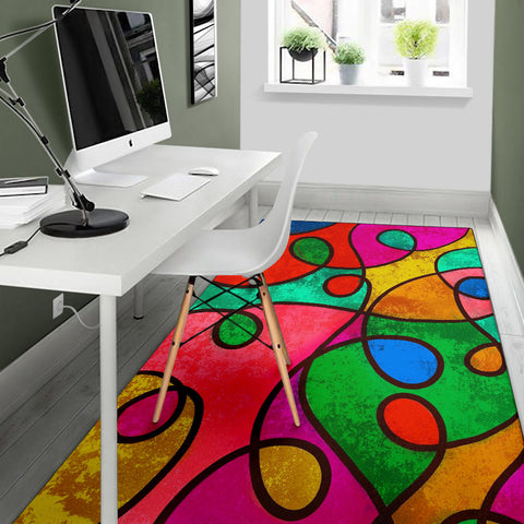 Image of Abstract Loop Rug