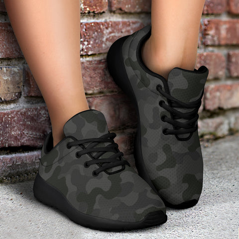 Image of Military Black Sneakers