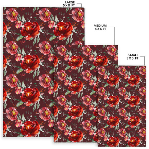 Image of Royal Rose Garden Area Rug