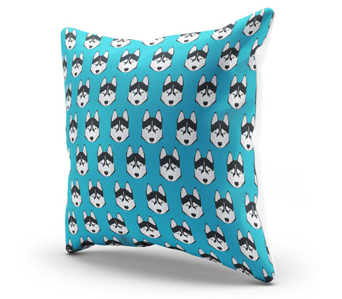 Image of Husky Pillow Cover - Spicy Prints