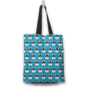 "Husky 16"" Tote bag - Spicy Prints"