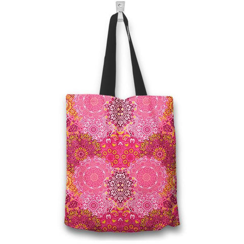 Pink Mandala Tote Bag - Spicy Prints