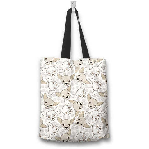 Chihuahua Tote Bag - Spicy Prints